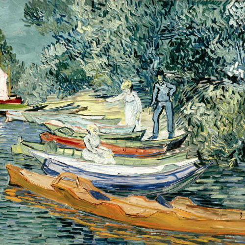 Vincent van Gogh, Bank of the Oise at Auvers, 1890