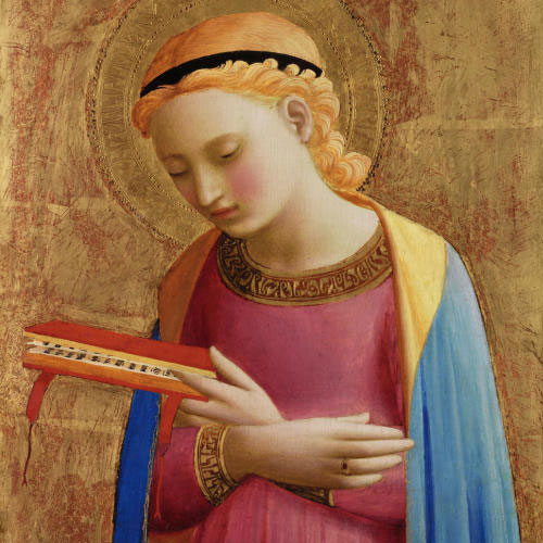 Fra Angelico, Virgin Annunciate, between 1450 and 1455