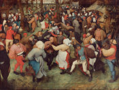 Pieter Bruegel the Elder - The Wedding Dance, 1566