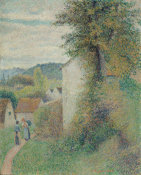 Camille Pissarro - The Path, 1889