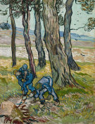 Vincent van Gogh - The Diggers, 1889