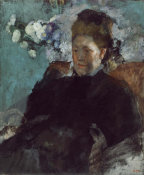 Edgar Degas - Portrait of a Woman, 1877