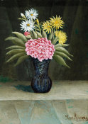 Henri Rousseau - Vase of Flowers, 19th/20th Century
