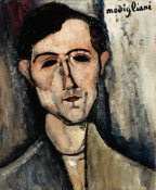 Amedeo Modigliani - A Man, 1916