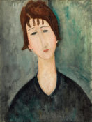 Amedeo Modigliani - A Woman, 1917-1920