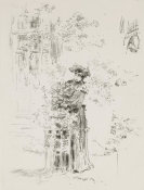 James Abbott McNeill Whistler - La Belle Jardinière, 1894