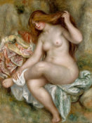 Pierre-Auguste Renoir - Seated Bather, between 1903 and 1906