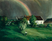 Robert Henri - The Rainbow, Normandie, 1902