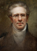 Rembrandt Peale - Self Portrait, 1828