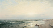 William Trost Richards - Beach at Long Branch: Sunrise, 1872