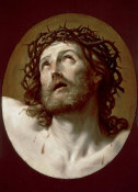 Guido Reni - Head of Christ Crowned with Thorns, early 1630s