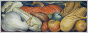Diego Rivera - Detroit Industry, Michigan Fruits and Vegetables (East Wall Mural Detail), 1932-1933
