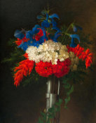 George Henry Hall - Patriotic Bouquet, 1861