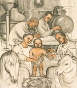 Diego Rivera - Vaccination, 1932