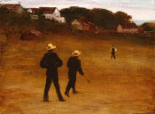 William Morris Hunt - The Ball Players, c. 1877