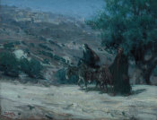 Henry Ossawa Tanner - Flight into Egypt, 1899