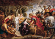 Peter Paul Rubens - The Meeting of David and Abigail, between 1625 and 1628