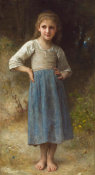 William Adolphe Bouguereau - The Mischievous One, 1899