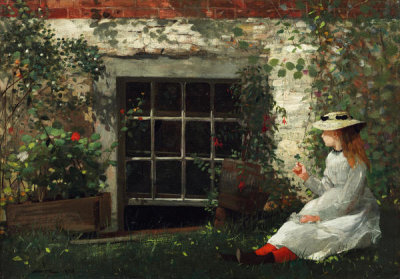Winslow Homer - The Four-Leaf Clover, 1873
