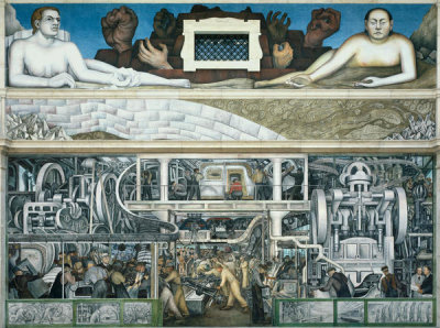 Diego Rivera - Detroit Industry, South Wall