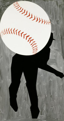 Robert Moskowitz - Hard Ball III, 1993