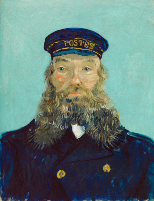 Vincent van Gogh - Portrait of Postman Roulin, 1888