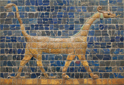 Neo-Babylonian Mesopotamian - Mushhushshu-dragon, Symbol of the God Marduk, 604 - 562 BCE