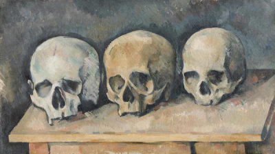 Paul Cézanne - The Three Skulls, ca. 1898