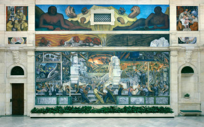Diego Rivera - Detroit Industry, North Wall, 1932-1933