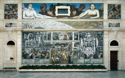 Diego Rivera - Detroit Industry, South Wall, 1932-1933