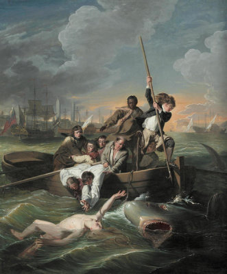 John Singleton Copley - Watson and the Shark, 1782