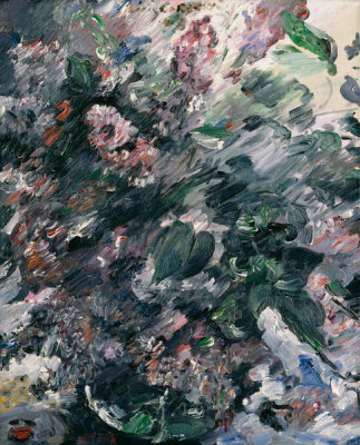 Lovis Corinth - Still Life with Lilacs, 1917