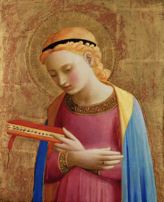 Fra Angelico - Virgin Annunciate, between 1450 and 1455