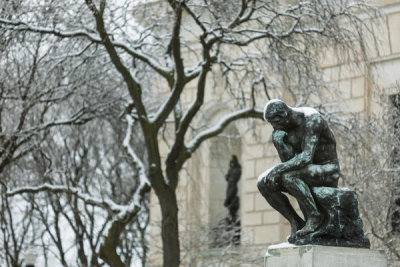 Auguste Rodin - The Thinker, 1904