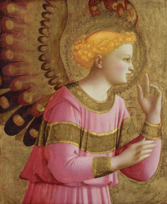 Fra Angelico - Annunciatory Angel, between 1450 and 1455