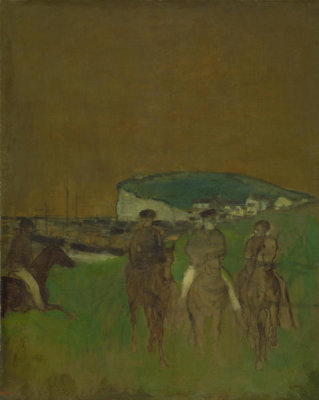 Edgar Degas - Morning Ride, ca. 1866