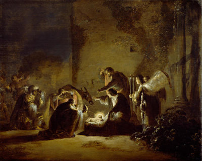 Leonaert Bramer - The Adoration of the Magi, between 1630 and 1635