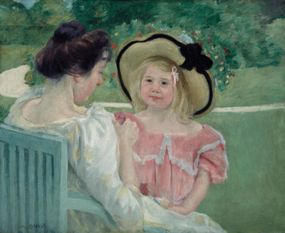 Mary Cassatt - In the Garden, 1903 or 1904
