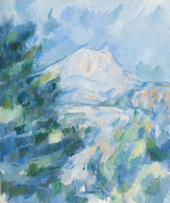 Paul Cézanne - Mont Sainte-Victoire, between 1904 and 1906