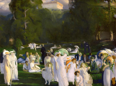 George Wesley Bellows - A Day in June, 1913