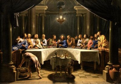 Jean-Baptiste de Champaigne - The Last Supper, ca. 1678