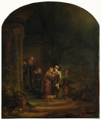 Rembrandt Harmensz van Rijn - The Visitation, 1640