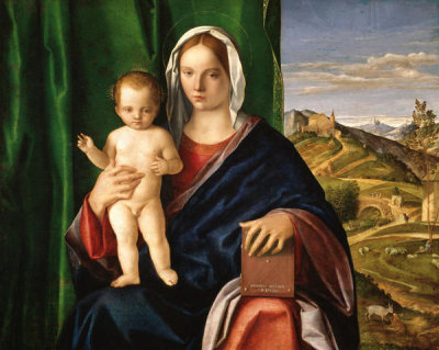 Giovanni Bellini - Madonna and Child, 1509