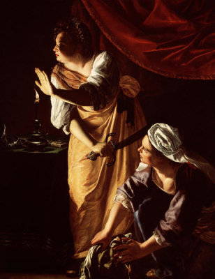 Artemisia Gentileschi - Judith and Her Maidservant with the Head of Holofernes, ca. between 1623 and 1625