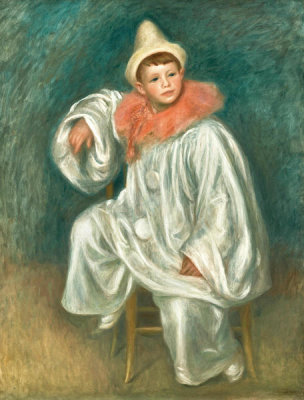 Pierre-Auguste Renoir - The White Pierrot, between 1901 and 1902
