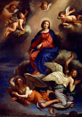 Guercino - Assumption of the Virgin, 1650