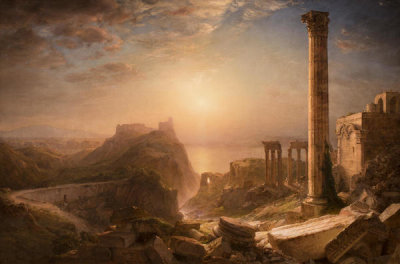 Frederic Edwin Church - Syria by the Sea, 1873