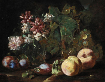 Abraham Brueghel - Still Life of Fruit and Flowers, 1670/1680