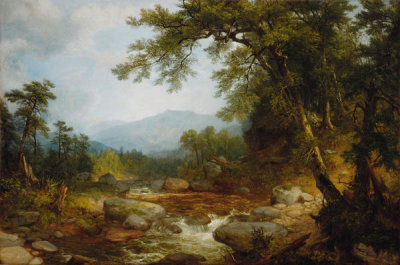 Asher Brown Durand - Monument Mountain, Berkshires, probably 1850
