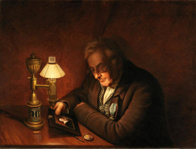 Charles Willson Peale - James Peale, 1822